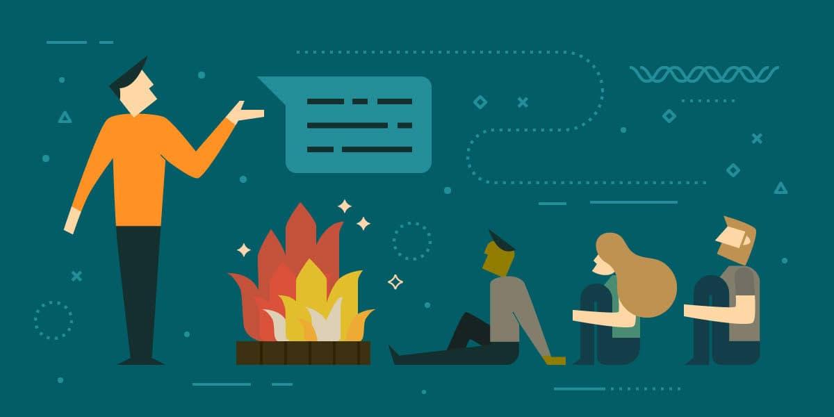 Storytelling para el Marketing {Forjando un cuchillo de cartón}